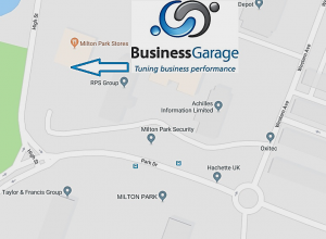 How to find Business Garage